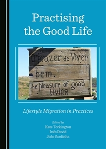 Book cover: Practicing the good life