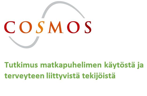 Cosmos-tutkimus, Cosmos-undersökning, matkapuhelimen käyttäjien seurantatutkimus