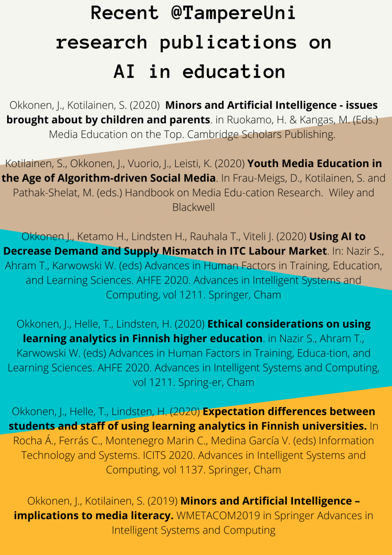 Recent TAU papers on AI