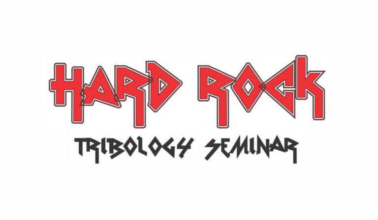 Hard rock tribology seminar logo