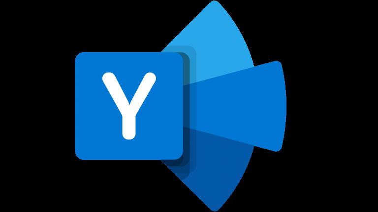 Microsoft Yammer logo.