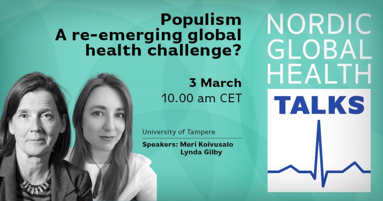 Populism – a re-emerging global health challenge?