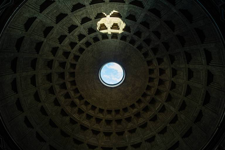 The ceiling of Pantheon